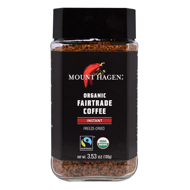 Mount Hagan Organic Freeze Dried Instant Coffee