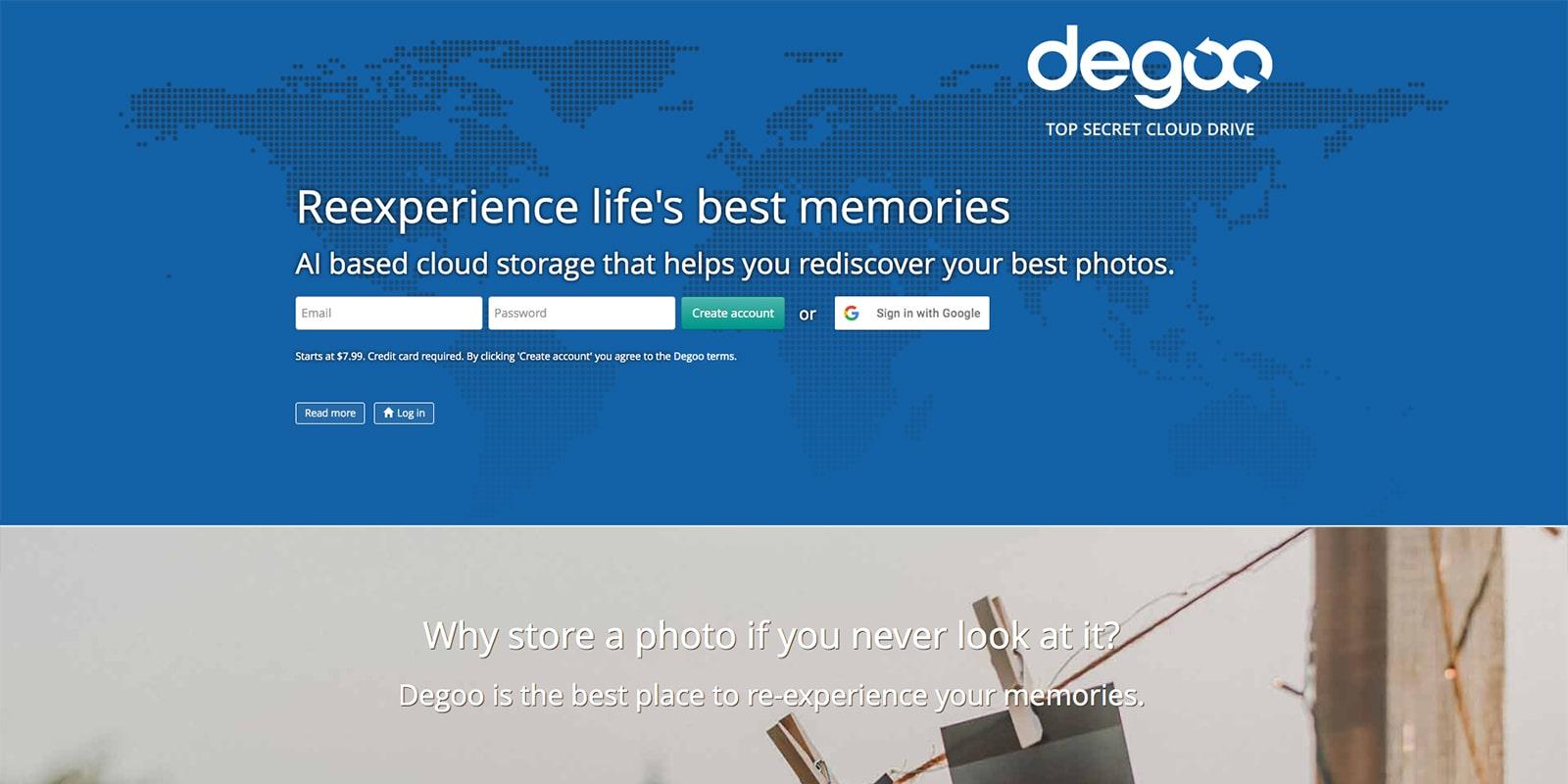 Degoo Cloud