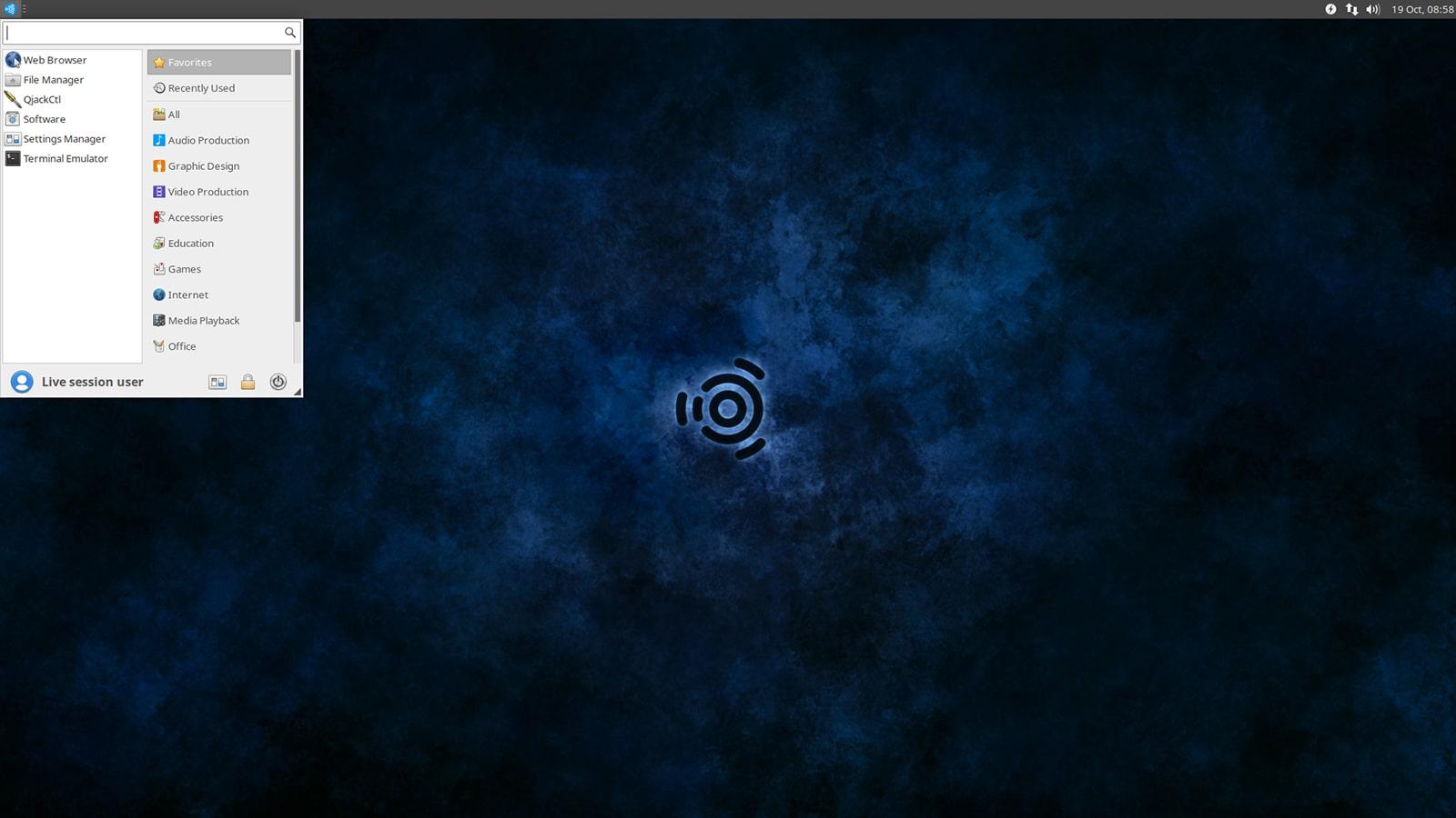 Ubuntu Studio Desktop