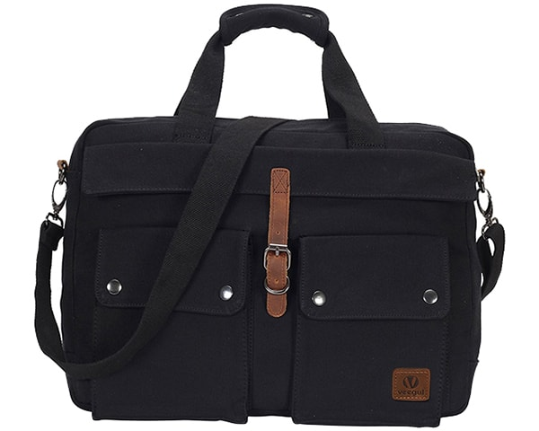 Hynes Eagle Soft Canvas Messenger Bag