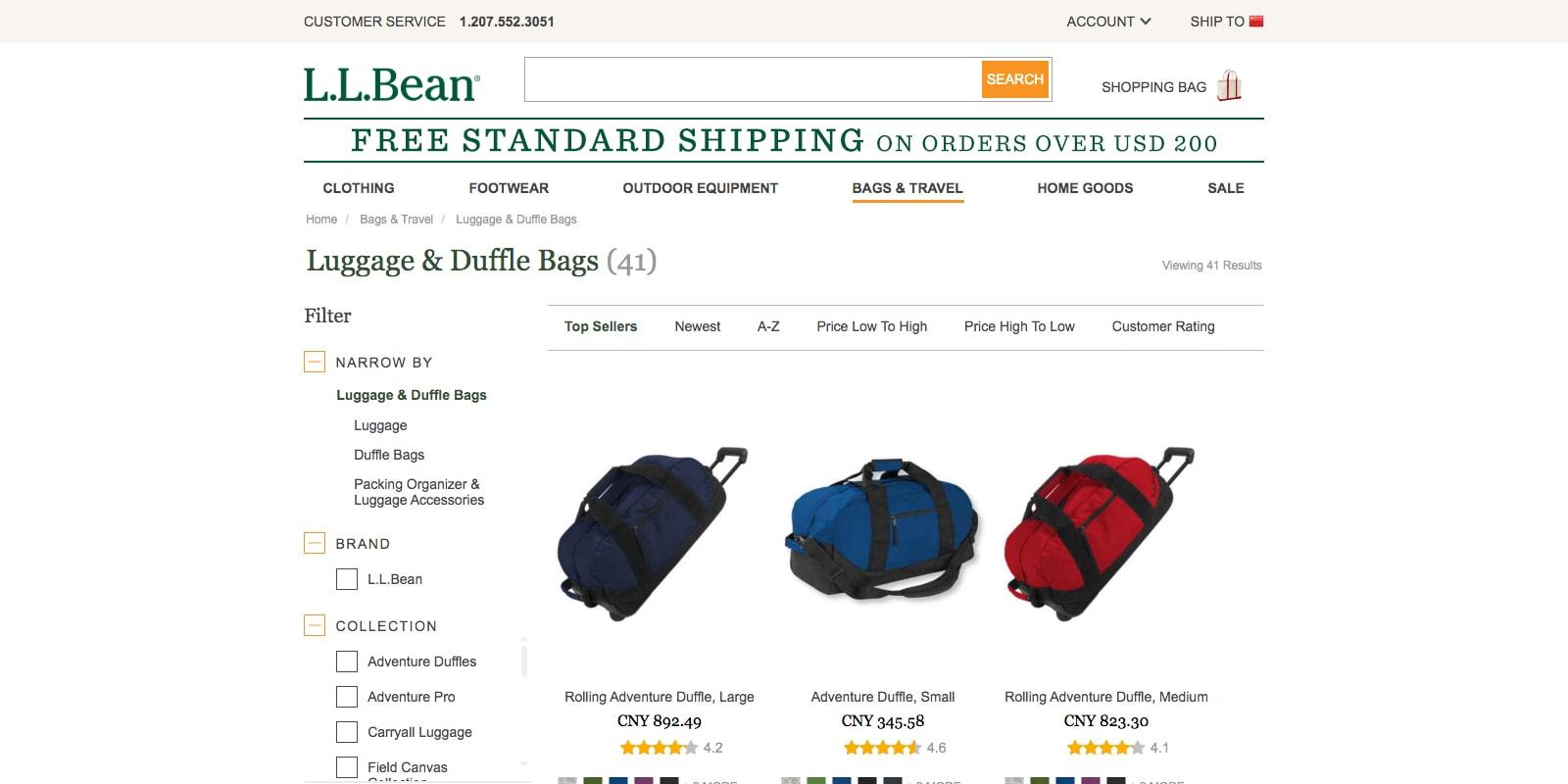 L.L.Bean Luggage Duffle Bags