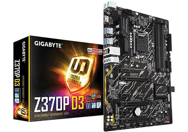 Gigabyte Z370P D3
