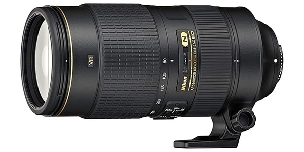 Nikon AF S 80 400mm f4.5 5.6G ED VR